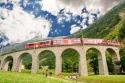ШВЕЙЦАРИЯ и ИТАЛИЯ – искам да замина с Червената Бернина – обект на Юнеско, един от най-прелестните железопътни маршрути в света!